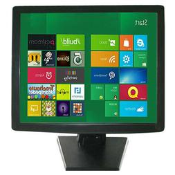 """17"""" inch 5-wire Resistive Stand Touchscreen LCD VGA Touch Sc"""