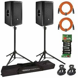 JBL PRX812W Two-Way Main System/Floor Monitors with Stands
