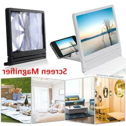 3D Mobile Screen Enlarge Lupe HD Video Enhancer Monitor Stan
