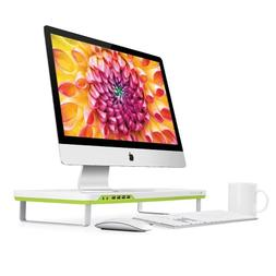 Satechi F1 Smart Monitor Stand with 4 USB Ports and Headphon