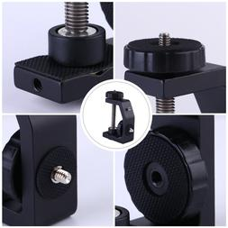 Aluminum C-Clamp Clamps Desktop Mount Holder Stand for LCD M