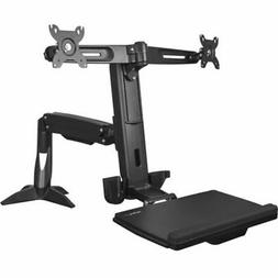 StarTech.com ARMSTSCP2 Sit Stand Dual Monitor Arm, For 2 x 2