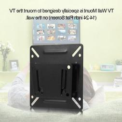 C2 TV Bracket Wall Mount Stand W/ Screws for 14-24'' LED LCD