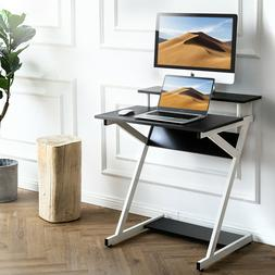 FITUEYES Computer Desk for Small Space Corner Study Table wi