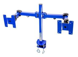MonMount Dual LCD Monitor Stand Desk Clamp Holds Up to 24-In