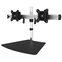 SIIG Easy-Adjust Dual Monitor Desk Stand - 13 to 27 - Up to