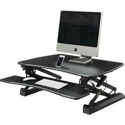Gas Lift Monitor Riser Table Top Sit to Stand Desk Adjustabl