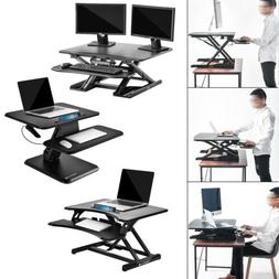 Home Office Computer Desk L-Shaped Table Wood& Metal Conner