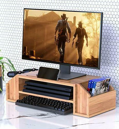 WELL Bamboo TIier Adjustable PS4