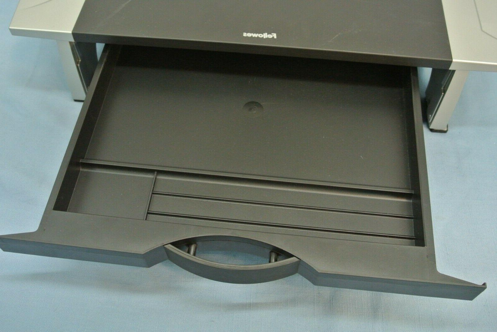 FELLOWES COMPUTER MONITOR W/