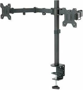 dual lcd monitor mount 19 27 inch