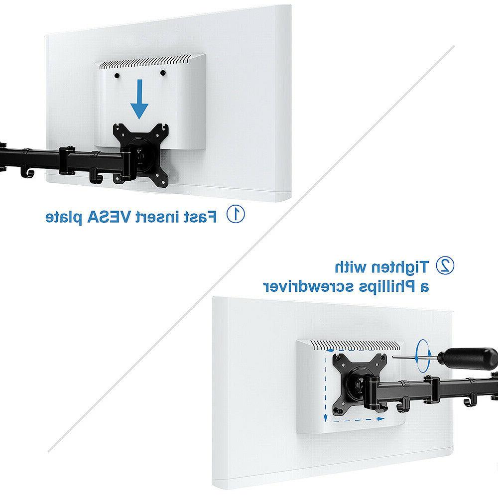 Dual Motion Arm Mount with C Holder