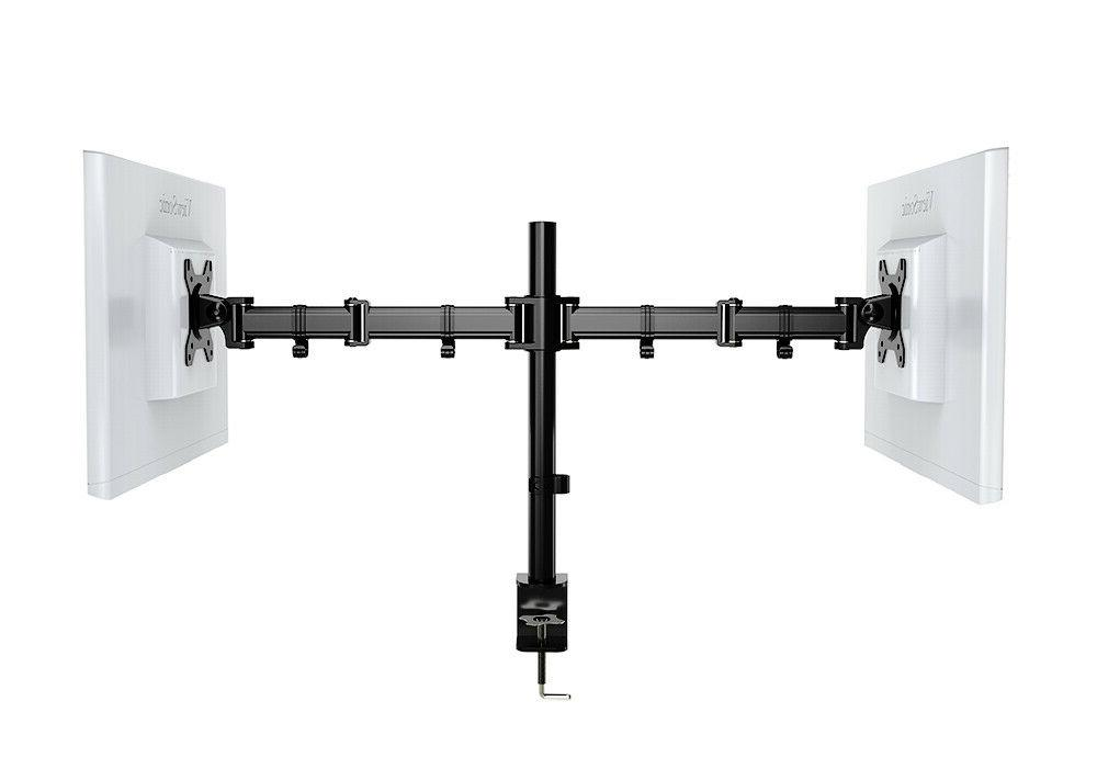 Dual Arm Mount Height with Holder