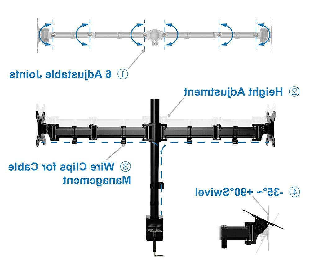 Mount Adjustable Stand with C Holder