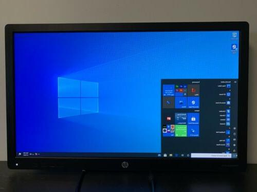 HP E232 Inch LED Monitor, Without Stand With Cables