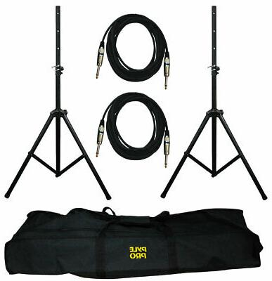 Pyle Pro Speaker Monitor Pole Stands + Kit