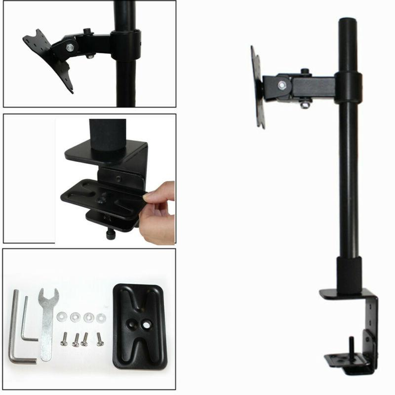 Single Monitor Adjustable Desk Mount Stand for 1 LCD