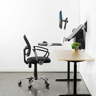 Single Sit-Stand Mount   Standing