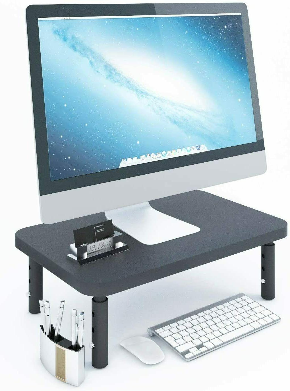 Sturdy Stylish Height Monitor for Desk