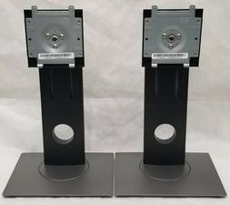 Lot of 2 Dell Monitor Base Stand Mount Adjustable Swivel Rot