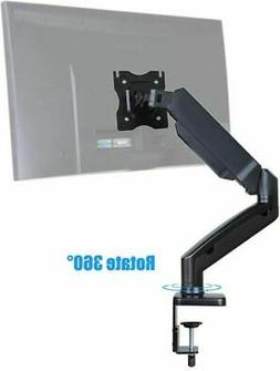 Single LED LCD Computer Monitor Mount Desk Stand for Size up