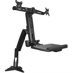 StarTech.com Sit Stand Dual Monitor Arm - For Two Monitors u