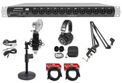 studiolive 16r digital rack mount mixer headphones